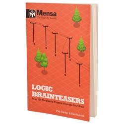 Mensa Brainteasers Book | 150 mind games