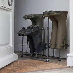 Metal Welly Boot Rack | Storage For Shoes & Boots