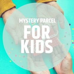 Mystery Parcel for Kids: worth over £65!