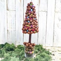 Personalised Christmas Malteaser Sweet Tree