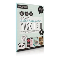 Set of 3 Happy Skin Mask Sets