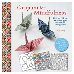 Origami For Mindfulness Book | Colour and Fold