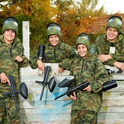 Paintball Experience Day | For 4 People