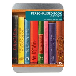 Personalise A Book Gift Box