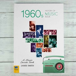 Personalised 1960s Music History Book