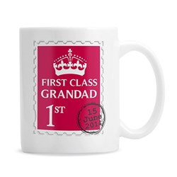 Personalised 1st Class Mug | For a 1st Class Person!