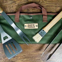 Personalised BBQ Tools Set