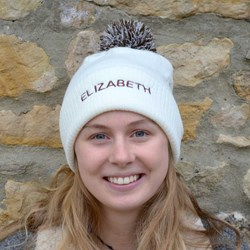 Personalised Bobble Hat | Choose From 4 Fun Colours!
