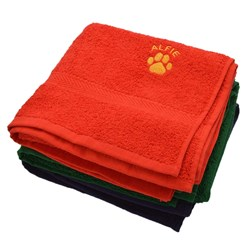 Personalised Dog's Name Towel
