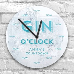 Personalised Gin O' Clock | Time For a Drink?