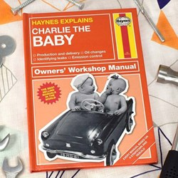 Personalised Haynes Explains Babies | The Manual