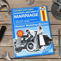 Personalised Haynes Explains Marriage | The Manual