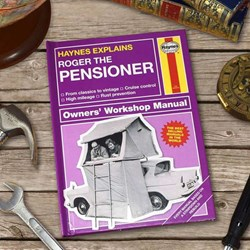 Personalised Haynes Explains Pensioners | The Manual