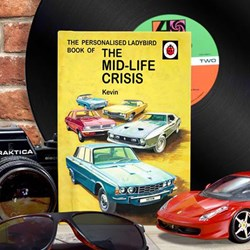 Personalised Ladybird Book of the Mid-Life Crisis - For Him