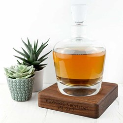 Personalised LSA Whisky Decanter