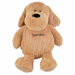 Personalised Plush Puppy Teddy