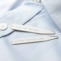 Personalised Collar Stiffeners | up to 22 letters per stiffener