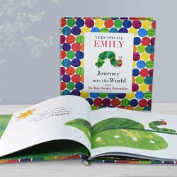 Personalised The Very Hungry Caterpillar Book in Gift Box