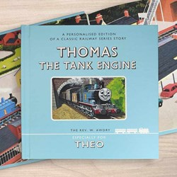 Personalised Thomas The Tank Engine Book in Gift Box
