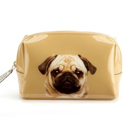 Pretty Pug Beauty Bag