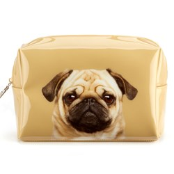 Pretty Pug Wash Bag
