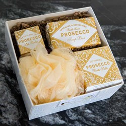 Prosecco Gift Box Set | Soap, Lip Balm & Bath Salts