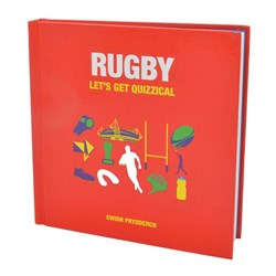Rugby: Let's Get Quizzical Book | by Gwion Prydderch