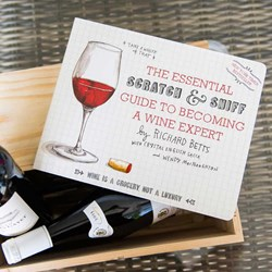 Scratch & Sniff Wine Book | it really does smell of wine!