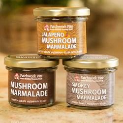 Set of 3 Mushroom Marmalades | A Mix of Flavours