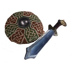 Sword and Shield Soft Fight Cushions