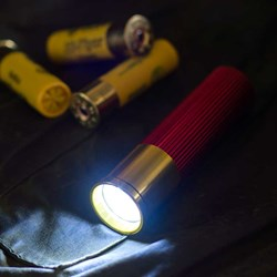 Shotgun Cartridge Torch - 9 Super Bright LEDs