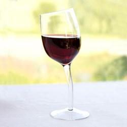 Single Wonky Wine Glass