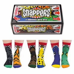 Snappers Children's Odd Socks | Three Boy's Pairs