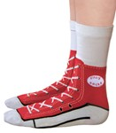 Sneaker Socks - Red These are cool!