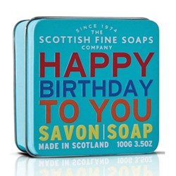 Soap in a Tin Happy Birthday to You