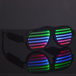 Sound Sensitive Light Up Glasses
