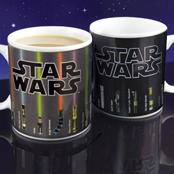 Star Wars Lightsaber Heat Change Mug | May The Force Be With You