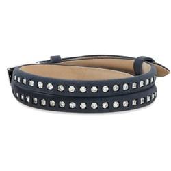 Silver Studded Strap Bracelet