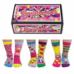 Sugalicious Children's Odd Socks | Three Girl's Pairs