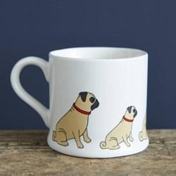 Sweet Pug Mug | Pooch Pottery!