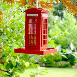 Telephone Box Bird Feeder | Tweet Tweet