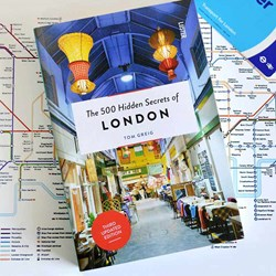 The 500 Hidden Secrets of London Book