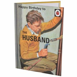 The Husband Birthday Card | A Ladybird Guide