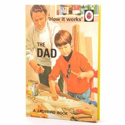 The Ladybird Book Of The DAD | Books for Grown-Ups Series