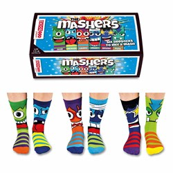 The Mashers Children's Odd Socks | Three Boy's Pairs
