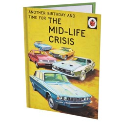 The Mid-Life Crisis Birthday Card | A Ladybird Guide