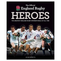 The Official England Rugby Heroes Book