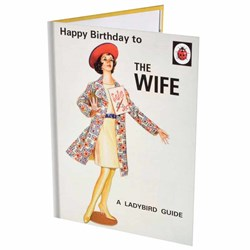 The Wife Birthday Card | A Ladybird Guide