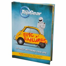 Top Gear Epic Failures Book | 50 Great Motoring Cock-Ups!