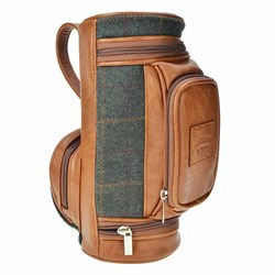 Tweed Golf Wash Bag